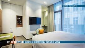 RTL INFO 13H : Un hôtel de luxe de Louvain est privatisé par le sultan d'Oman