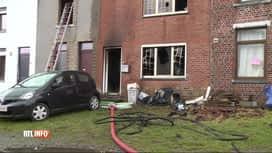 RTL INFO 19H : Une dame perd la vie dans l'incendie de son habitation à Ransart