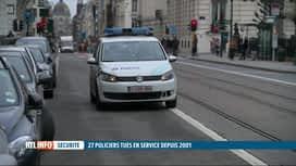 RTL INFO 19H : En 2018, 2.500 candidats ont entamé une formation de policier