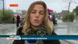 RTL INFO 13H : Journée mondiale du climat: des manifestants aussi en rue à Liège