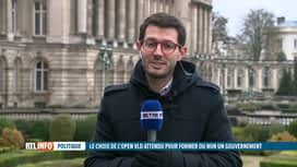 RTL INFO 13H : Gouvernement fédéral : que vont décider les libéraux flamands ?