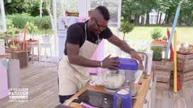 Le meilleur pâtissier - Chefs & célébrités : Djibril et son problème de gélatine