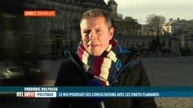 RTL INFO 13H : Frédéric Delfosse est en direct du Palais de Bruxelles