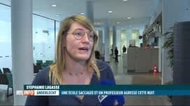 RTL INFO 13H : 5 jeunes ont saccagé une école à Anderlecht la nuit dernière