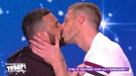 Touche pas à mon poste : Cyril Hanouna embrasse Matthieu Delormeau