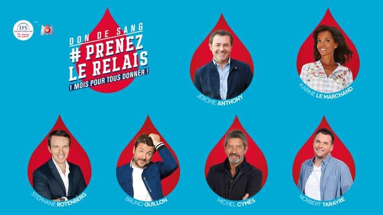 DON DE SANG #PRENEZLERELAIS