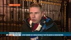 RTL INFO 19H : Frédéric Delfosse est en direct du Palais de Bruxelles