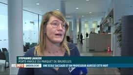 RTL INFO 19H : 5 jeunes ont saccagé une école à Anderlecht la nuit dernière