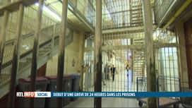 RTL INFO 19H : Action de grève de 24 heures dans les prisons belges