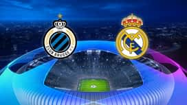 Champions League : 11/12 : FC Bruges - Real Madrid