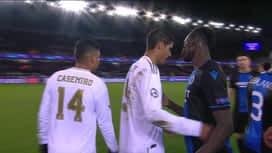 Champions League : FC Bruges - Real Madrid : 2ème mi-temps