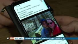 RTL INFO 13H : Un couple porté disparu à Huy depuis 5 jours