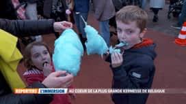 Reporters : Au coeur de la plus grande kermesse de Belgique
