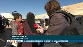 RTL INFO 13H : La Belgique condamnée à aider les enfants de jihadistes