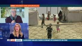 RTL INFO 13H : Enfants de jihadistes: Bernard De Vos commente la décision de justice