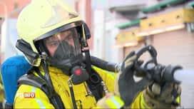 RTL INFO 13H : Incendie à Bressoux: le bâtiment contenait de l'amiante