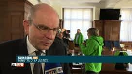 RTL INFO 13H : Grève des gardiens de prisons: réaction de Koen Geens