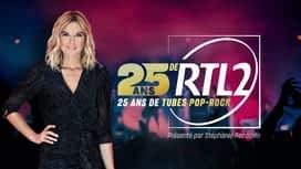 25 ans de RTL2, 25 ans de tubes pop-rock en replay