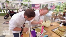 Le meilleur pâtissier - Chefs & célébrités : Les chefs sont jaloux de James