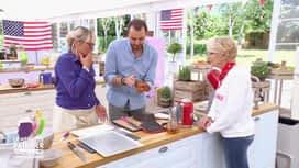 Le meilleur pâtissier - Chefs & célébrités : Cyril sabote le gâteau de Christine