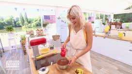 Le meilleur pâtissier - Chefs & célébrités : Alexandra en mauvaise posture