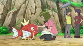 Pokemon : S22E21 Un moment magi... carpe !
