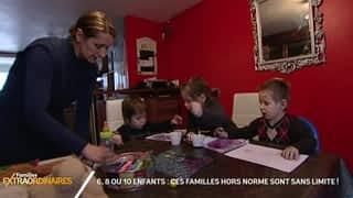 6, 8 ou 10 enfants : ces familles hors-norme sont sans limite