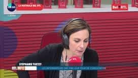 La matinale Bel RTL : RTL Info 8h 09/01