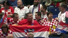 EURO 2020. - GRUPA A : CRO - MNE / Hrvatska - Crna Gora - 1. poluvrijeme