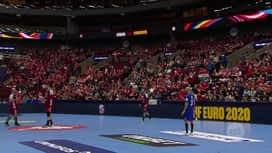 EURO 2020. - GRUPA E : HUN - RUS / Mađarska - Rusija - 2. poluvrijeme