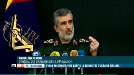 RTL INFO 19H : L'Iran reconnait avoir abattu par erreur le Boeing 737 de l'UIA