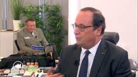 C'est pas tous les jours dimanche : François Hollande est l'invité de Pascal Vrebos