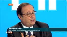 RTL INFO 13H : François Hollande est l'invité de Pascal Vrebos ce midi