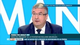RTL INFO 13H : Pierre-Yves Jeholet, MR, préconise une coalition sans la N-VA