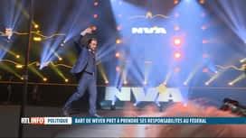 RTL INFO 13H : Ouverture de Bart De Wever vers le PS lors du nouvel an de la N-VA