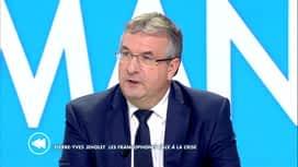 C'est pas tous les jours dimanche : Pierre-Yves Jeholet: les Francophones face à la crise