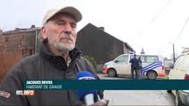 RTL INFO 13H : Saccagée, la maison de Jacques a été incendiée à Bièvre