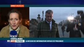 RTL INFO 19H : Formation fédérale: peu d'enthousiasme à la sortie du palais royal