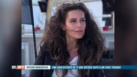 RTL INFO 19H : Maëlle, 17 ans, est décédée en trois jours d'un choc toxique