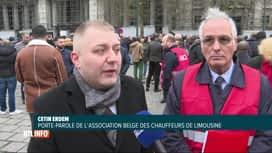 RTL INFO 19H : Procès de chauffeurs Uber poursuivis par la fédération des taxis