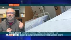 RTL INFO 19H : Toujours pas d'accord conclu dans le secteur des soins de santé