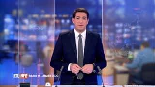 RTL INFO 13H : RTL INFO 13 heures (14/01/20)