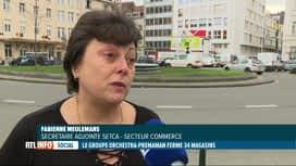 RTL INFO 13H : Le groupe Orchestra va fermer 34 magasins sur 53