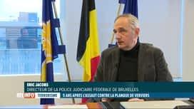 RTL INFO 19H : Il y a 5 ans, la police anéantissait la cellule terroriste de Verviers