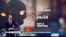 RTL INFO 19H : Focus sur les unités spéciales de la police