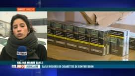 RTL INFO 13H : 126 millions de cigarettes contrefaites saisies à Anvers