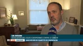 RTL INFO 19H : Contrefaites ou pas, toutes les cigarettes sont nocives !