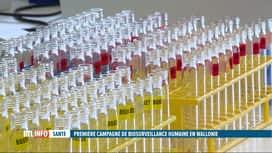 RTL INFO 19H : 900 Wallons participent à une campagne de bio-surveillance