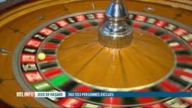 RTL INFO 13H : 360.553 personnes sont interdites de jeux de hasard