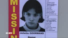 RTL INFO 19H : Disparue vendredi, Juliette Goormans, 14 ans, a été vue à la côte